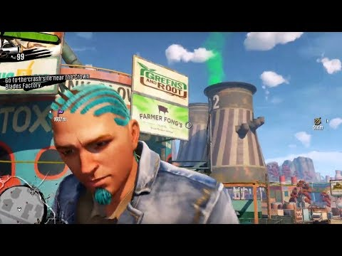 HOW BIG IS THE MAP In Sunset Overdrive? Run Across The Map