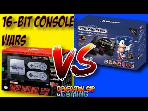 SNES Classic Edition vs Sega Genesis Flashback HD - The Mini 16-bit Console Wars thumbnail