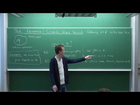 Quantum Parameter Estimation, Fisher Information, And The Cramér-Rao Bound