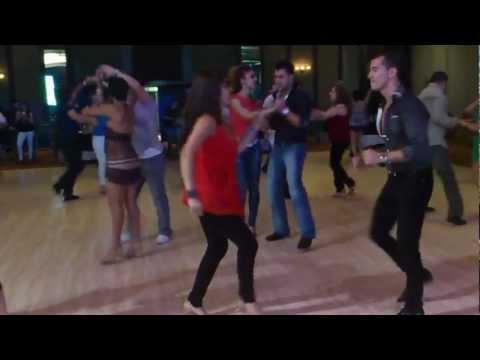 Monica Hernandez y Oliver Pineda Social Dance en el Costa Rica Salsa Congress 2012