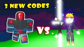 3 NEW CROWN CODES! BUYING ICE AURAS & SOLO BOSS In SABER SIMULATOR! [Roblox]