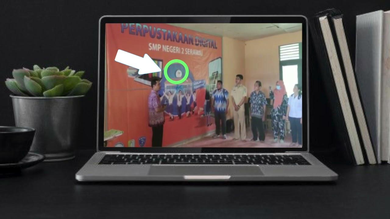 Peresmian KIPIN Classroom Sebagai Perpustakaan Digital Tanpa Internet di SMPN 2 Serawai, Kalbar