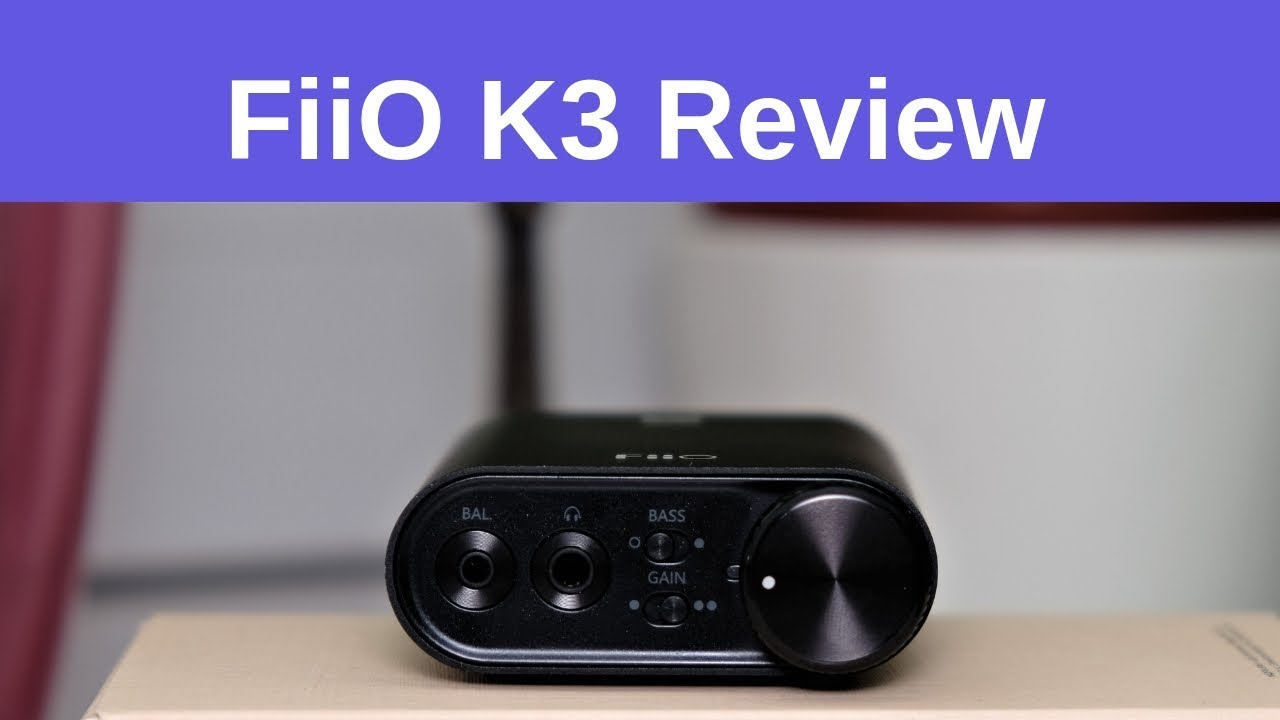 FiiO K3 Review - Strong essences are kept in small bottles