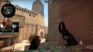 CS:GO Tips: Basic Smokes, Molotov and One-Way Smokes for Mirage Bombsite A (Terrorist)