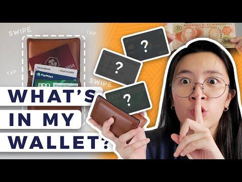 💳 What's in My Wallet PH 2020 | Unionbank Playeveryday, BDO Rewards Emerald, PayMaya Visa Card 👁👅👁