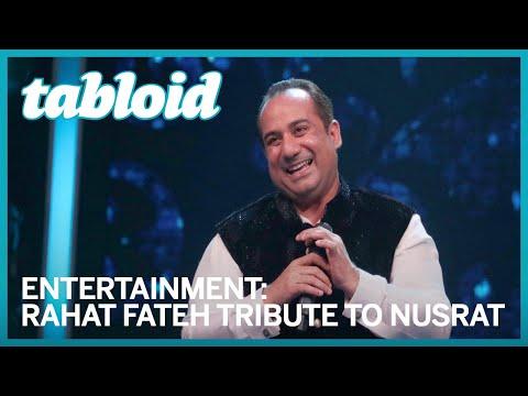 Rahat Fateh Ali Khan's emotional tribute to Nusrat