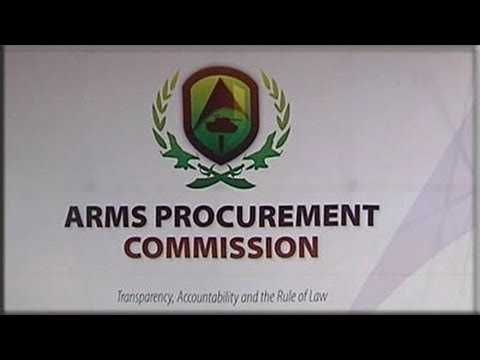 Arms Deal Commission, 9 June 2014