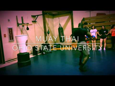 Muay Thai in Ohio State University Mansfield campus