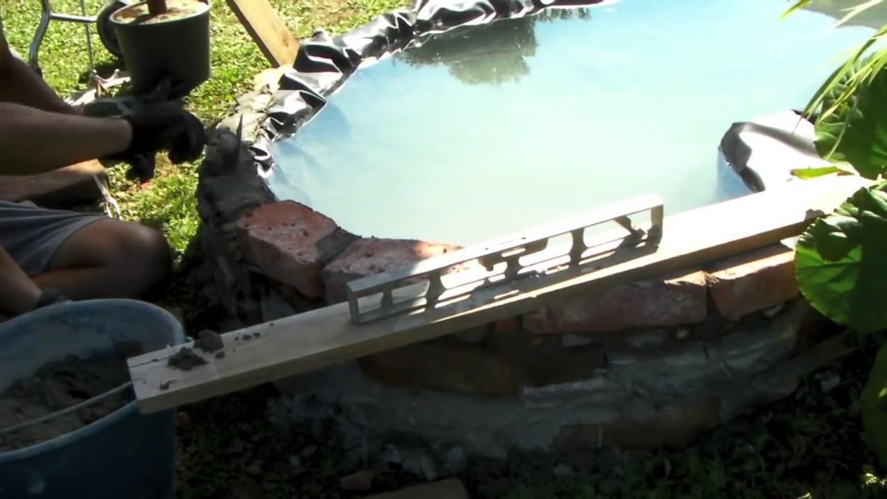Come creare un piccolo laghetto in giardino parte for Laghetto in casa