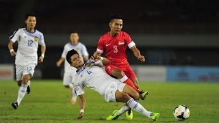 27th SEA Games (Football) - Singapore vs Laos