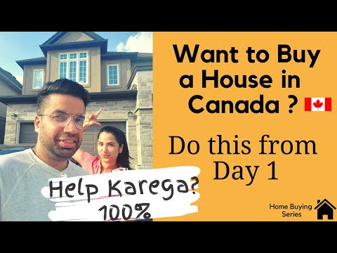 🇨🇦 Buying A House In Canada? Do This First!  | Tips To Get Best Mortgage |  1st Time Home Buyers