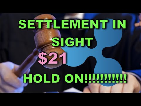 S.E.C. WILL DISCUSS A SETTLEMENT ON MAY 6TH!!! XRP TO $21 IF THIS HAPPENS!!!