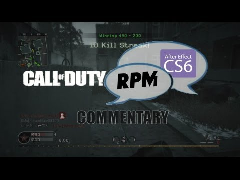 COD 4: Commentary (RPM Partnership; Montage; Live Streams; New Software)