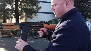 Gambar cover TACAMO Vortex AK47 Mag Fed Paintball Gun