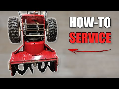 How to Service a Snowblower - Basic Maintenance