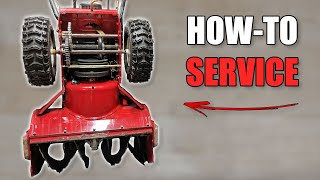 How to Service a Snowblower  Basic Maintenance