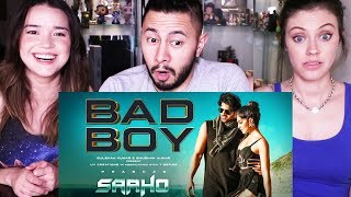 SAAHO: BAD BOY SONG   Prabhas   Jacqueline Fernandez   Music Video Reaction!