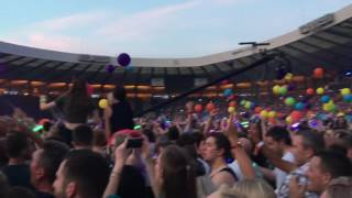 Coldplay - Adventure of a Lifetime Live Glasgow 2016