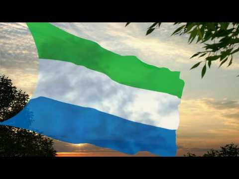 Flag and anthem of Sierra Leone