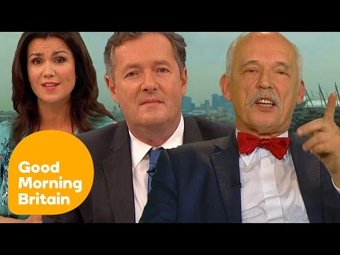 Piers Morgan Rages at 'The Most Sexist Man in Politics' (Full Interview) | Good Morning Britain