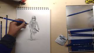 Rohan Sharma - Stormtrooper speed drawing