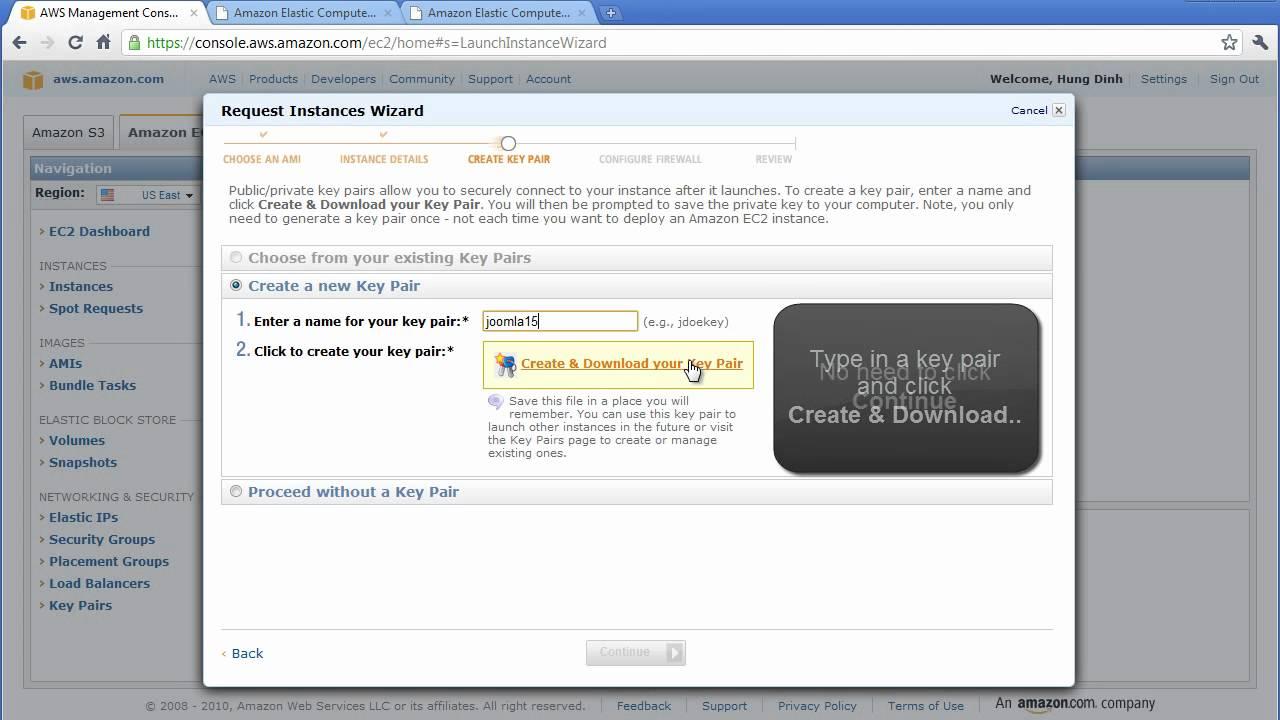 Joomla! Cloud hosting with Amazon EC2 Video Tutorial Part 2 - YouTube