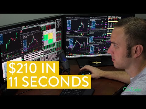 [LIVE] Day Trading | $210 in 11 Seconds (I Love The Stock Market!)