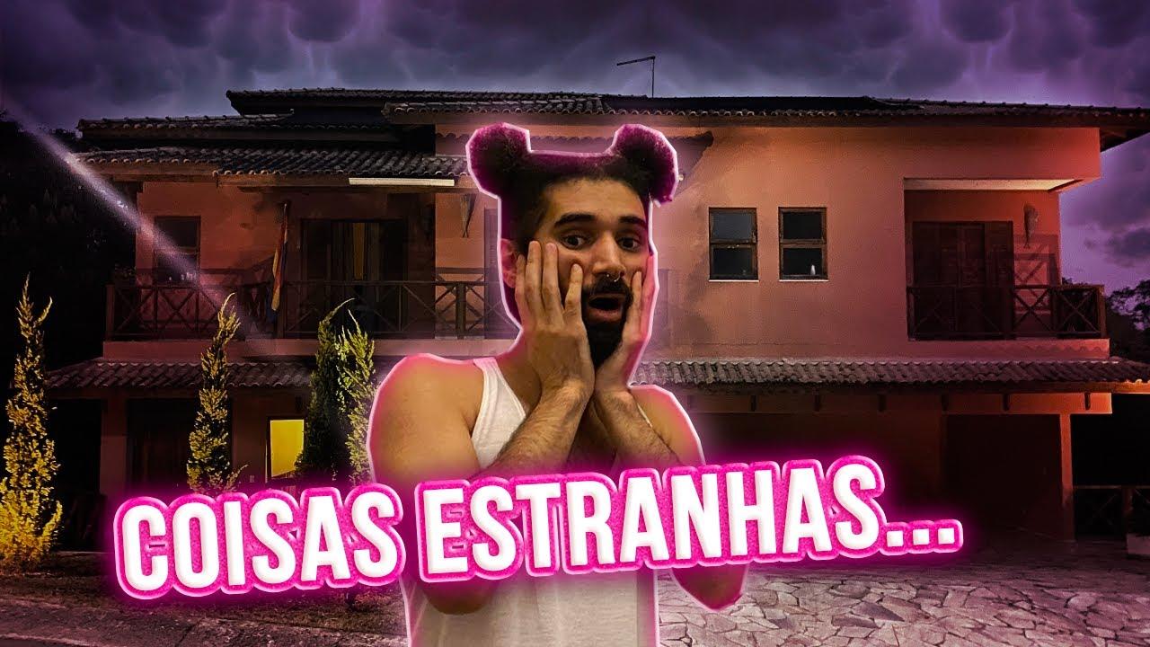 A CLEYTU PRESENCIOU COISAS SOBRENATURAIS NA MANSÃO! | Mansão das Pocs
