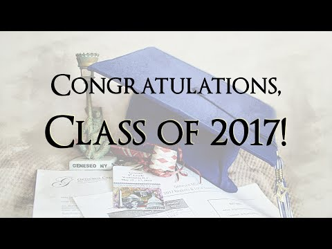 Geneseo Central School's Class of 2017 Graduation Video
