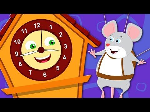hickory dickory dock | nursery rhymes | kids songs | childrens rhymes | kids tv