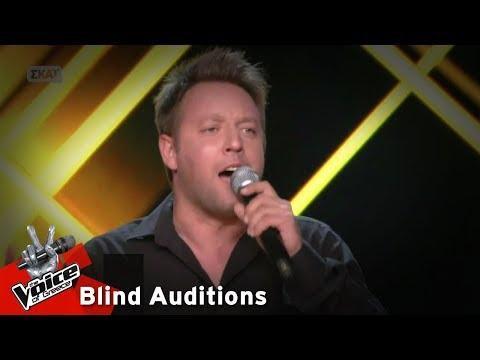 Παναγιώτης Ρεντετάκος - Ο Σαλονικιός  | 7o Blind Audition | The Voice of Greece