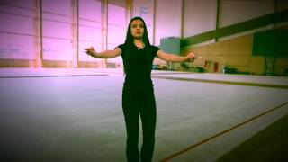 Передача : Шаги к Успеху !))) Горизонтальная мельница !) Rhythmic Gymnastics Training
