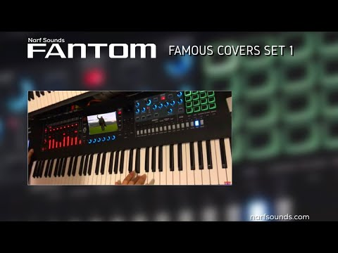 Roland Fantom Famous Covers Set 1 Synth Keyboard Sounds
