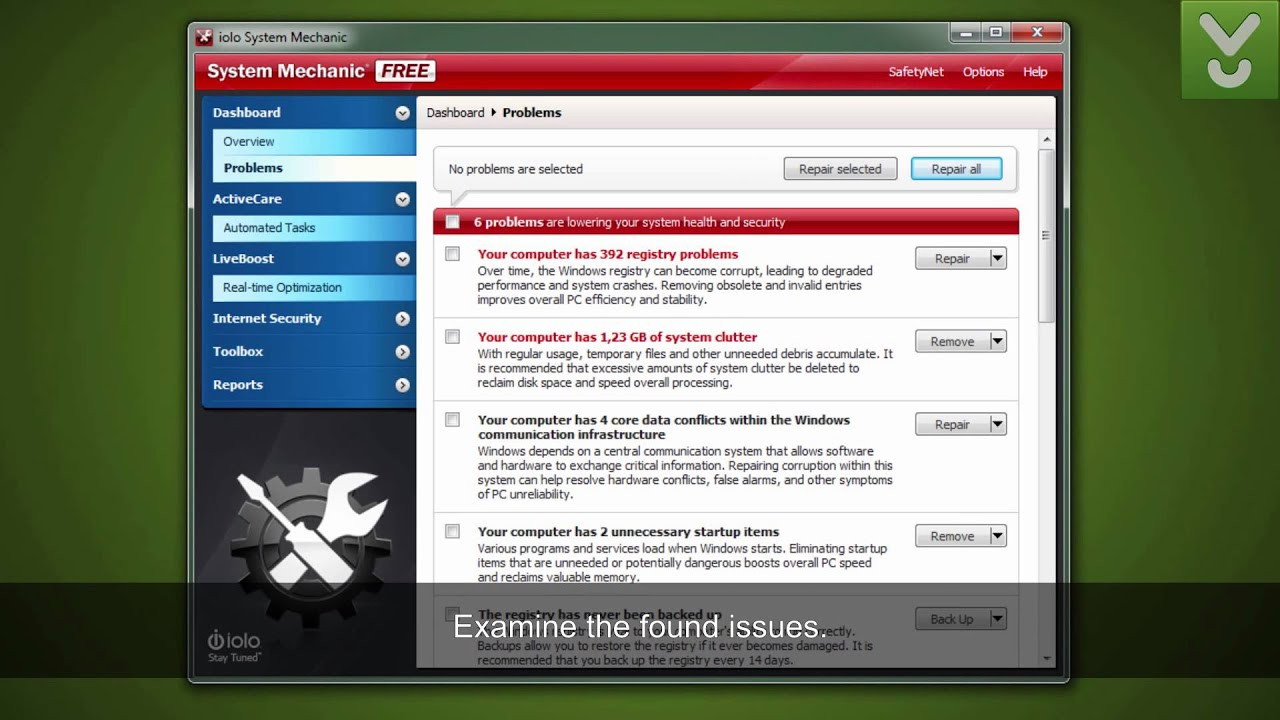system mechanic pro download cnet