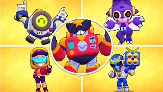 Brawl Stars - All Brawlers Unlock Animation