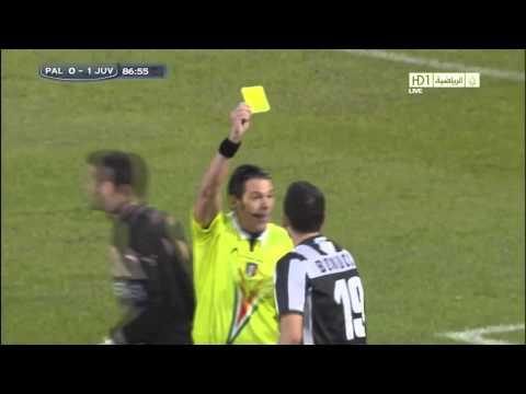 Leonardo Bonucci Funny Act Juventus vs Palermo ! (9-12-2012)