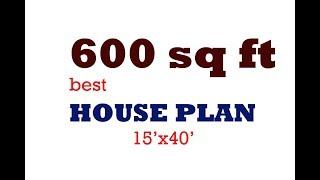 600 SQ FT BEST HOUSE PLAN