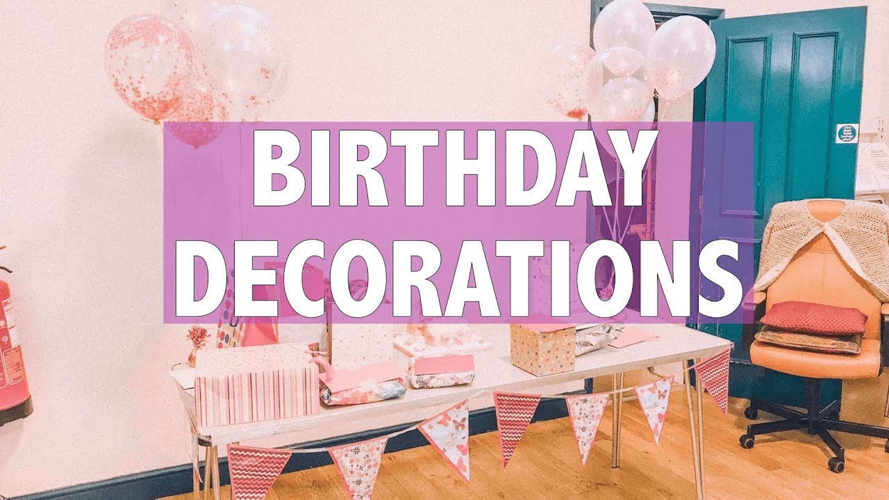 1 Year Old Birthday Party Decoration Ideas