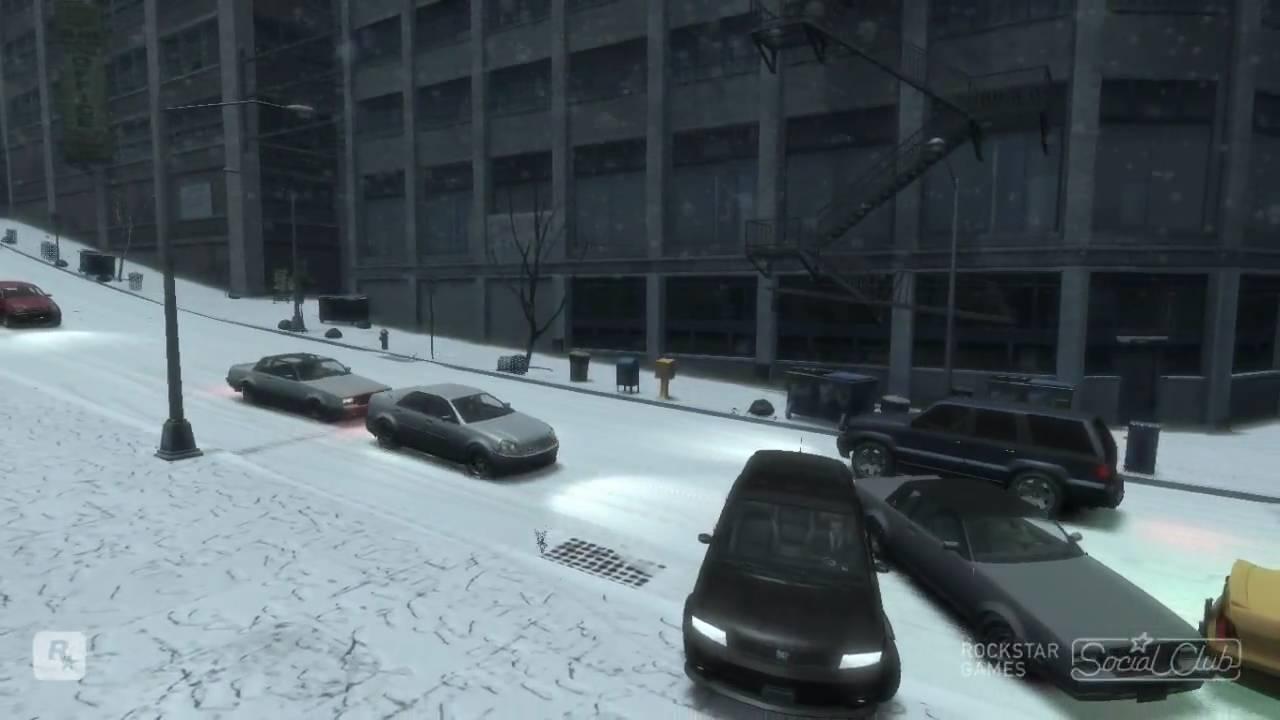 Gta 4 Winter Mod