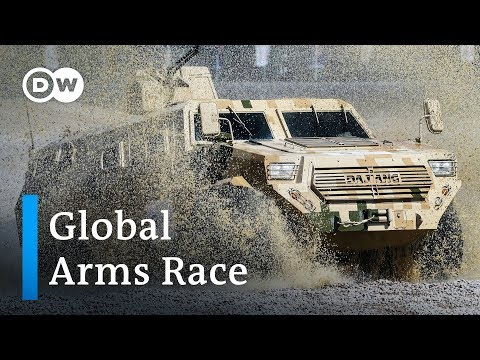 Global Military Spending Reaches Record High | DW News