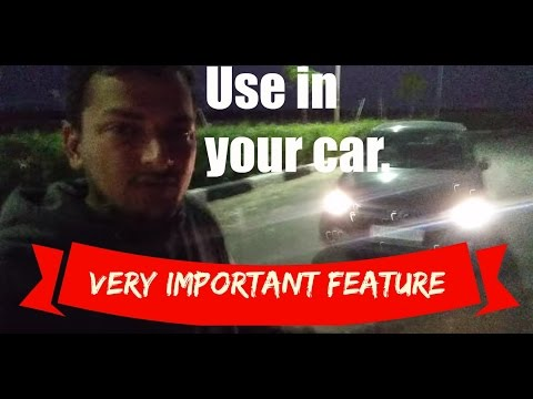 Headlamp Escort | Follow/Guide me home feature Explained!