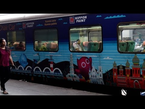 With a new look, Chennai-Coimbatore Shatabdi Express showcases Tamil Nadu's cultural heritage