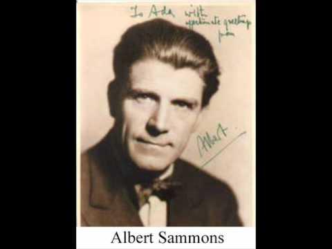 Elgar: Violin Concerto, mvt 1 - Sammons/Wood (1st complete recording)