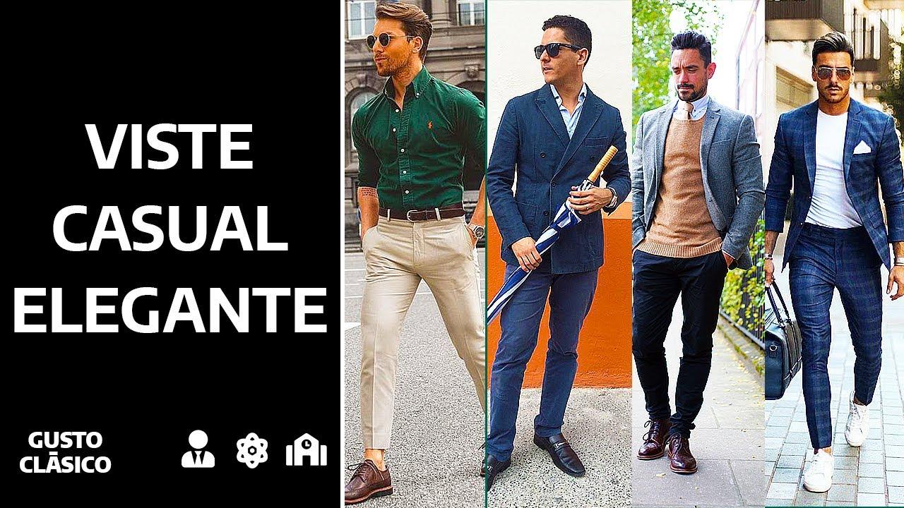 Cómo Vestir Casual Elegante Códigos De Vestimenta