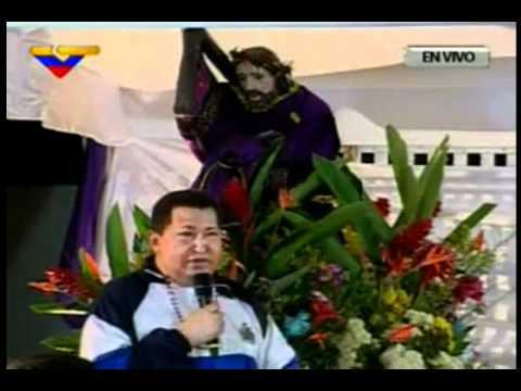 "Hugo Chávez: ""Cristo!!! No me lleves todavia"""