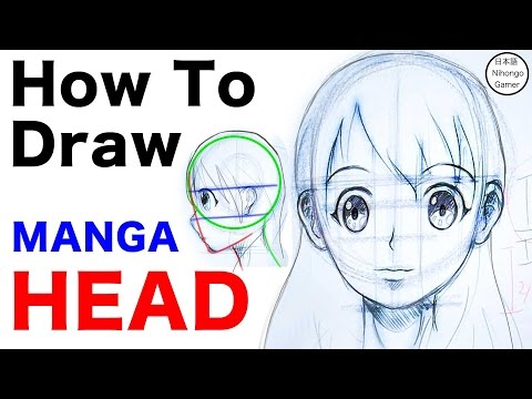 how-to-draw-female-manga-head|-anime-style|apple-pencil-[tutorial]