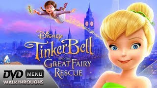 Tinker Bell and the Great Fairy Rescue (2010) DvD Menu Walkthrough thumbnail