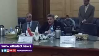 مجلس عمداء جامعة بنها يكرم أسرة الشهيد النقيب عبد الله الجندي..فيديو وصور