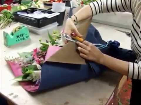 Своими руками упаковка для букетов