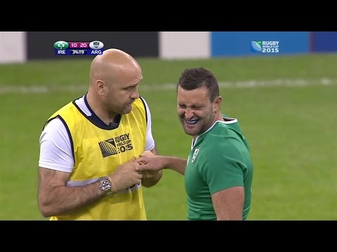 Ouch! Kearney's finger dislocation for Ireland